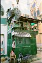 Ein Kiosk in Lafayette in Tunis