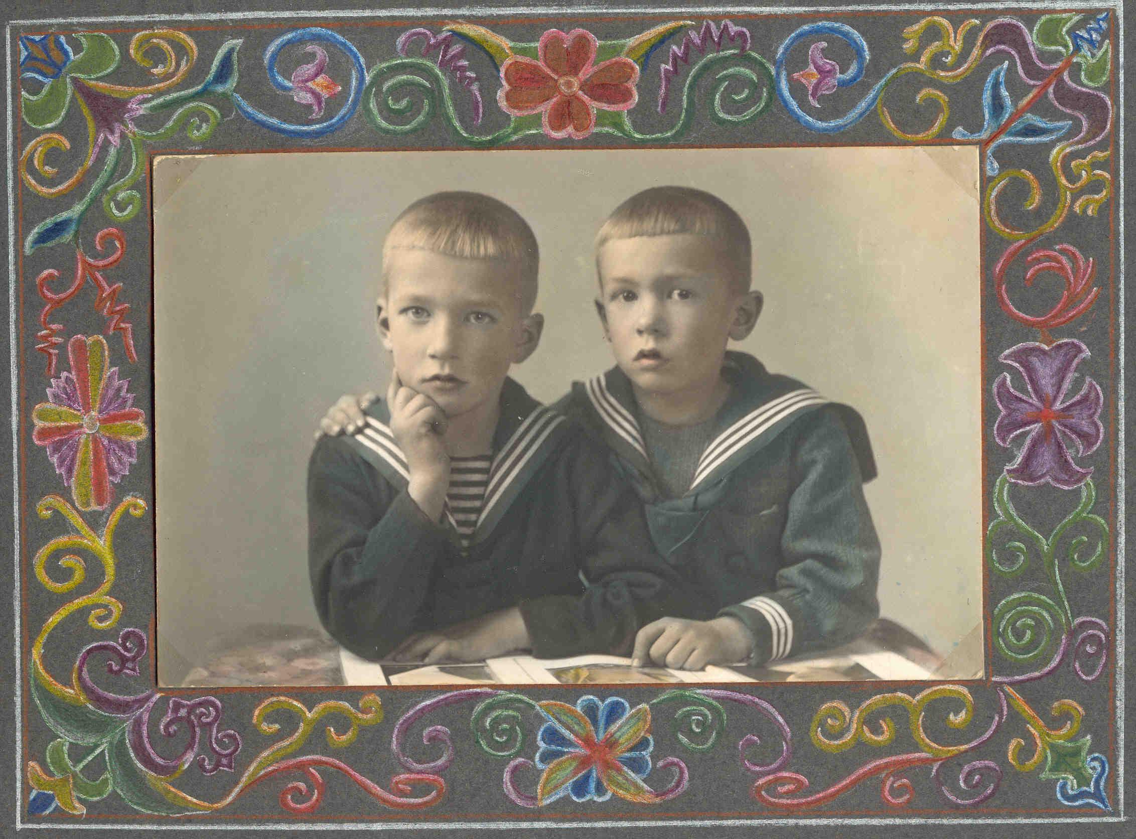 Bernhard und Josef Drüke ca.1930