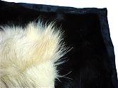 Pelzdecke Nr6 Fix und Foxy aus Gae-Wolf und Fohlen - Detail