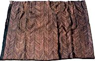 Pelzdecke Nr9 aus Nutria - Rückseite