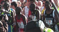 Marathon Startaufstellung