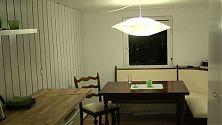 Eßzimmer renoviert