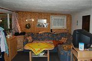 Wohnzimmer im Gartenhaus