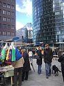 Flohmarkt am Potsdamer Platz in Berlin