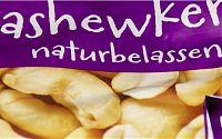 Cashewkerne, naturbelassen