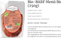 Edenfood - Bio-BARF-Menü Bio-Ziege