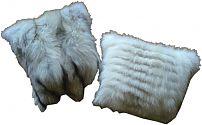 Pelzkissen aus Blaufuchs