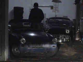 Sprite - ohne Chrom in der Garage