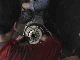 Kupplung - Getriebe - Motor