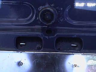 Motorhaube - Verschluß